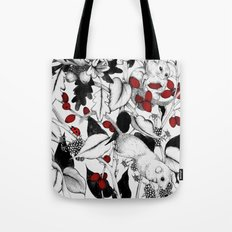 3 little Dormice Tote Bag