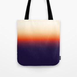 Infrared Orange & Ultraviolet Purple Sunrise Tote Bag
