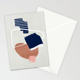 Abstract and geometrical artwork Stationery Cards