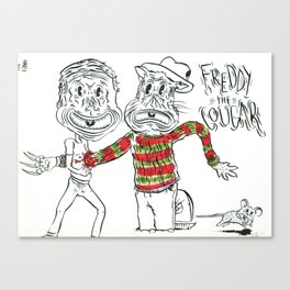 Freddy the Cougar Canvas Print