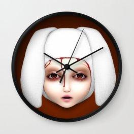Misfit - Alicia Wall Clock