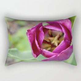 Spring Tulip Rectangular Pillow