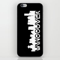 vancouver iPhone & iPod Skins featuring Vancouver  by Allison Kiloh