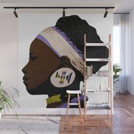 Zulu girl 2 Wall Mural