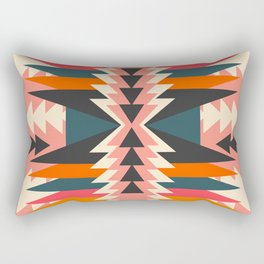 Colorful ethnic decoration Rectangular Pillow