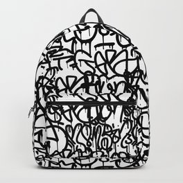 Graffiti Pattern | Street Art Urban Graphic Backpack