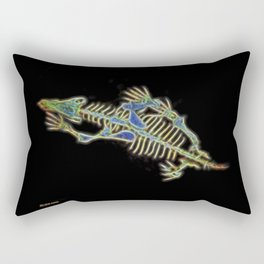 Bart The Dog's Alien Secret Rectangular Pillow