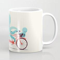 My Red Bike Coffee Mug