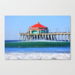 Southside Pier Canvas Print