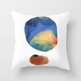 Captured Moons of Jupiter #14 Throw Pillow