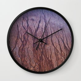 Lines in the Sand Wall Clock