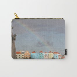 Rainbow over Willemstad Curaçao Carry-All Pouch