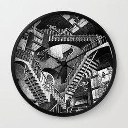 M.C. Escher - Relativity Wall Clock