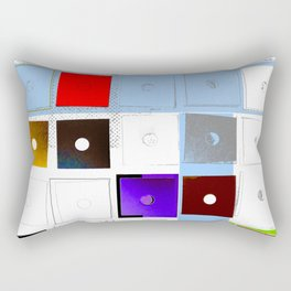 Opposites Are Attractive Rectangular Pillow