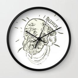 Old Dude Wall Clock