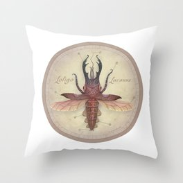 Stag Squid Throw Pillow