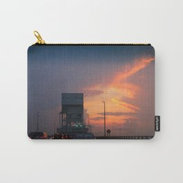 Cape Fear Bridge At Sunset Carry-All Pouch