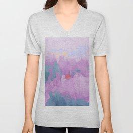 ultra violet haze Unisex V-Neck