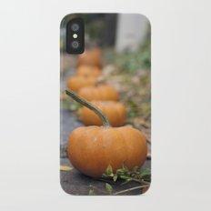Pumkin Row iPhone X Slim Case