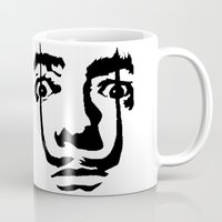 salvador dali Mugs featuring salvador dali by b & c