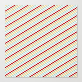 All Striped Canvas Print