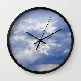 The 7th Cloud Wall Clock