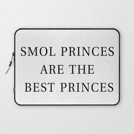 Smol Bookish YA Princes White Laptop Sleeve