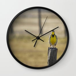 Have Audience Will Sing Wall Clock