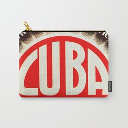 Vintage Cuba Soft Drink Poster Carry-All Pouch