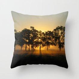 Sunrise Whispers Throw Pillow