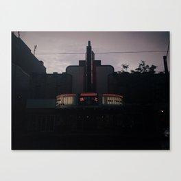 cinema Canvas Print