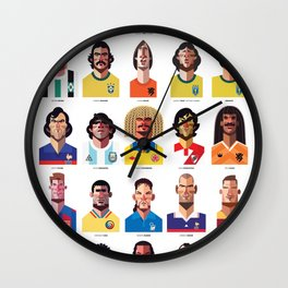 Playmakers Wall Clock