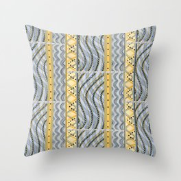 Currency II Throw Pillow