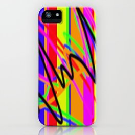 Heartbeat Of Colour iPhone Case