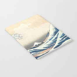 The Great Wave off Kanagawa (Highest Resolution) Notebook