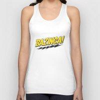 bazinga Tank Tops featuring Bazinga Flash by Nxolab