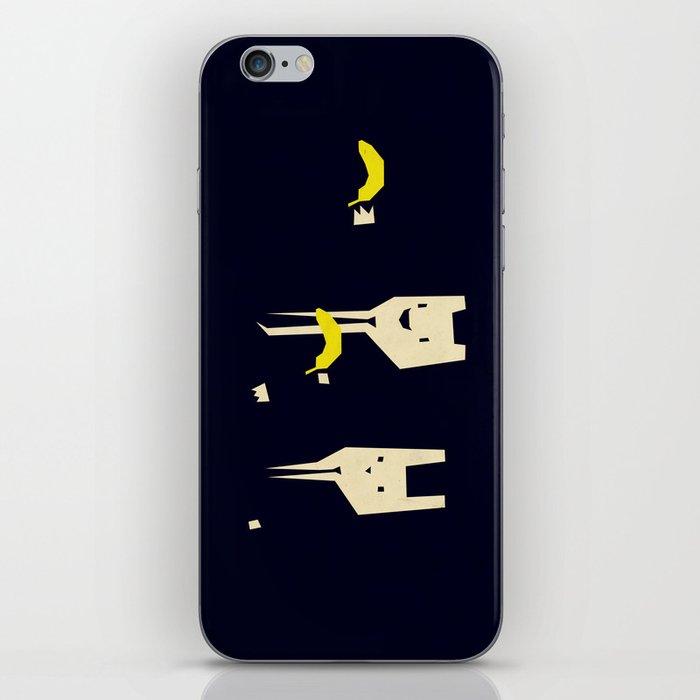 Pulp banana iPhone Skin