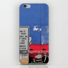 Street Collage II iPhone Skin