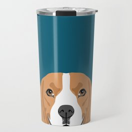 Lenon - Beagle gifts for pet owners and dog person with a beagle Travel Mug