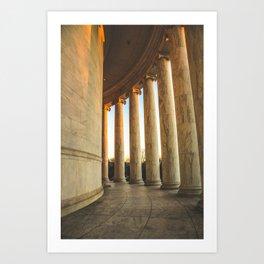 Around the Rotunda Art Print