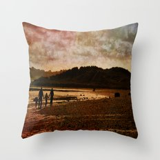 family time Throw Pillow