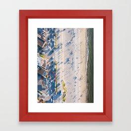 Alki Beach Framed Art Print