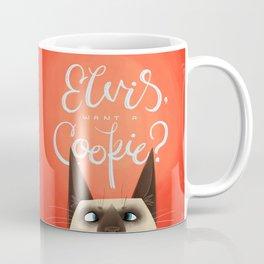 Elvis, Want a Cookie? Coffee Mug