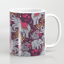 Thai Elephants Family Coffee Mug