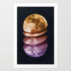 Music of the Moon Art Print