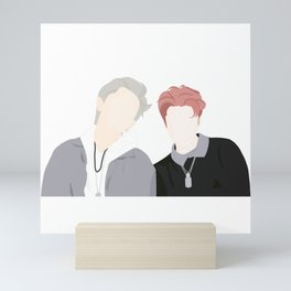 EXO Sehun and Chanyeol Mini Art Print