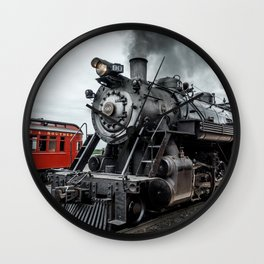 Strasburg Railroad Vintage Steam Locomotive Baldwin Train Engine Pennsylvania Wall Clock