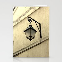 lantern Stationery Cards featuring Lantern by secdesign