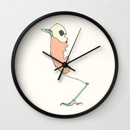 Abstract Robins Wall Clock