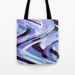 Wavy Blue Tote Bag